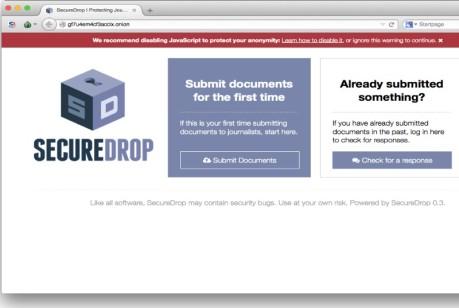 secure drop