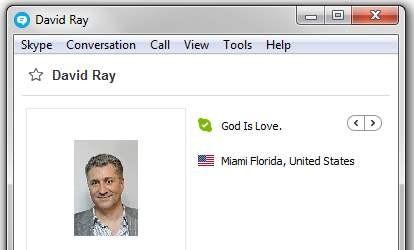 online dating med Skype