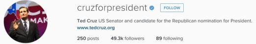 Cruz instagram
