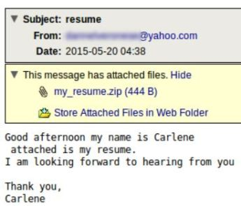 resume-malware