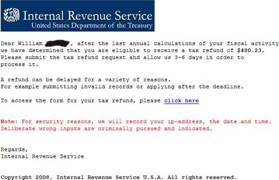 irs phish