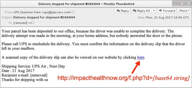 ups email