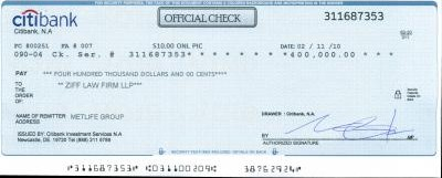 citibank check