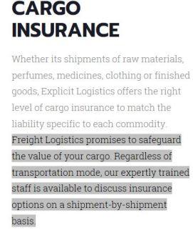 explicit cargo
