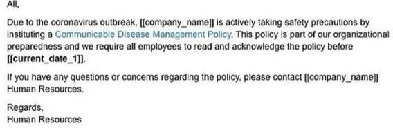 company scam